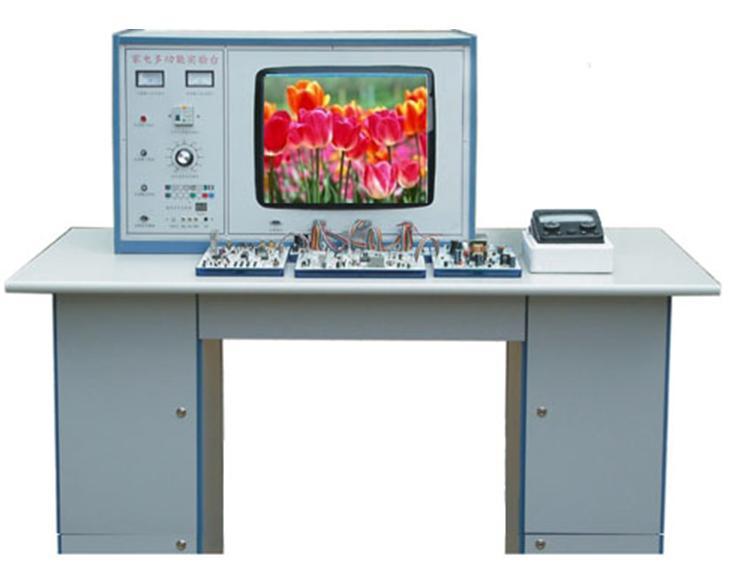 SBZPDS-1型纯平彩色电视机维修实训台 一、概述 纯平彩色电视机维修实训台,吸收国内外先进教学仪器的优点,充分考虑实验室现状与发展,从性能和结构上进行了改进和创新,采用积木式结构,布局合理,使用方便,每个单元都可进行故障实验、测试、研究、分析,并且教师可自编自导实验,提高实验效果及学生动手能力。 二、技术指示 1、工作电源:AC220V10%50Hz 2、外形尺寸:138高80宽160长cm 3、整机功率:<0.