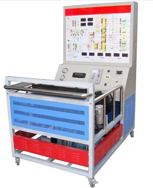 汽车空调实训台  帕萨特b5自动空调系统实训台简介   (二)  结构组成