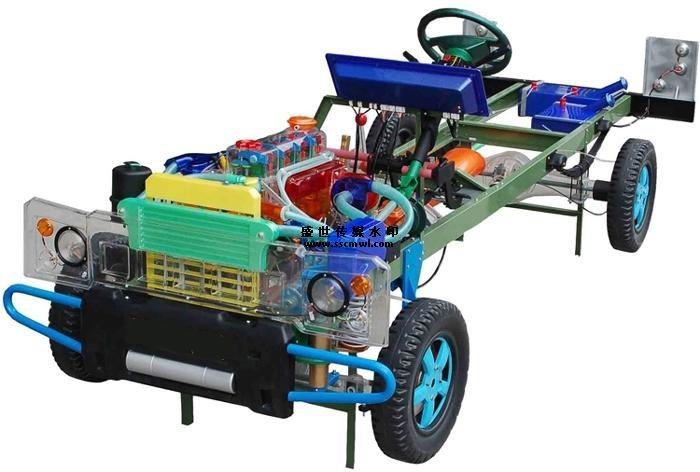 汽车整车教学模型透明直观形象的展示了整车构造和