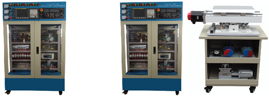 开关电源,接线端子排和走线槽等;电器排布与选型完全按照现行的数控